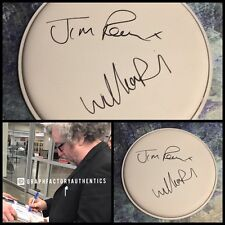 "GFA William & Jim Reid * THE JESUS AND MARY CHAIN * Signed 10"" Drumhead J1 COA"