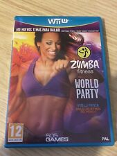 Zumba Fitness World Party with Belt - Nintendo Wii U Game (PAL) RARE