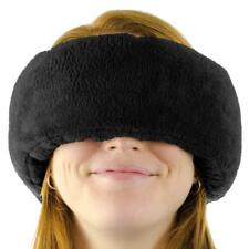 Wrap-a-Nap Travel Pillow, Sleep Mask & Ear Muff in One. Sleep Anywhere! (Black)