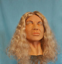 Female Mask Dorris Diva Latex Cosplay Masks!  With Wig