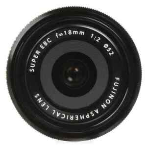 Fujifilm - XF 18mm f/2.0 Lens