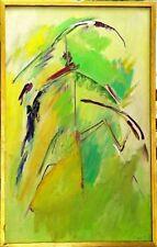 Tableau Abstrait 1968 Bambou par Sigrist