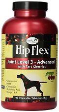 NaturVet Overby Farm HIP FLEX LEVEL 3 Joint Mobility For Dog Supplement 90ct