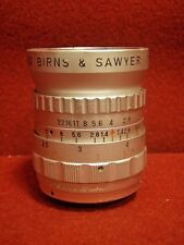 Birns & Sawyer Omnippon MK II 25mm 1:1.4 C-Mount Wide Angle Lens | #7792