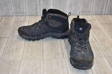 Salomon- Mid GTX Hiking Boots, Men's Size 10.5, Black/Pewter