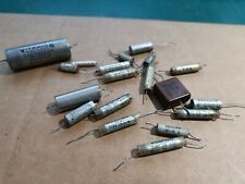More details for sprague vitamin q paper in oil  tcc metalmite and other capacitors