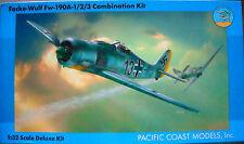 Pacific Coast 1/32 Focke-Wulf Fw-190A-1/2/3 Combination Kit