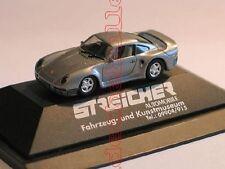 PORSCHE 959 High Tech Streicher automobile Museo Herpa 1:87 RAR PC modello speciale