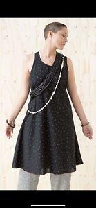 Gudrun Sjoden Cotton Piri  /Linen Dress M (14)