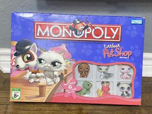 LITTLEST PET SHOP Monopoly 2007 board game EUC