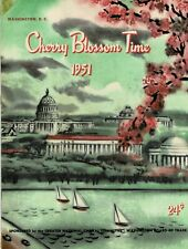 1951-Princess of the Americas Pageant-Cherry Blossom Time-Washington D C-Souv(A)