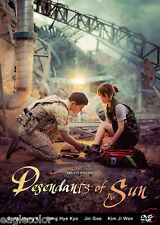 Descendants of the Sun Korean Drama (4DVDs) Excellent English & Quality!