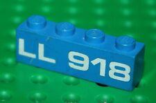 Lego Espace Brick 1x4 with LL918 pattern ref 3010p918 / Set 918 One man ship