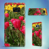 NATURE RED FLOWERS YELLOW HARD CASE FOR SAMSUNG GALAXY S PHONES