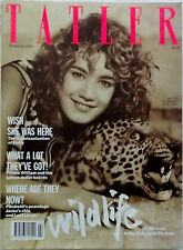 TATLER Magazine Vol 284 No 2 February 1989 Emily Lloyd cover