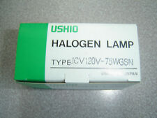 USHIO JCV120V-75WGSN 75 watt E11 base Halogen Lamp