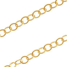 14/20 Gold Filled Cable Chain 2.7mm Bulk By The Foot