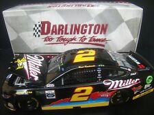 Brad Keselowski 2019 Miller Darlington #2 Penske Mustang 1/24 NASCAR