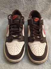 Nike Dunk Brown  Orange Youth Low Top  Size 6Y 306339-164 2006