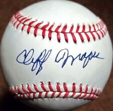 CLIFF MAPES (D.1996) (YANKEES - BROWNS - TIGERS) SIGNED OAL BASEBALL PSA/DNA