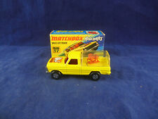Matchbox Superfast MB - 57 Ford Wild Life Truck Yellow Clear rear canopy