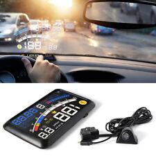 1X OBD2 or EOBD Car GPS HUD Head Up Speed Display Overspeed Warning Speedometers