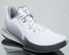 Nike Mamba Fury Men's Kobe Bryant Low White Wolf Grey Basketball Sneakers Shoes