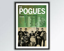 THE POGUES reimagined 1988 UK Tour Poster A3 size.