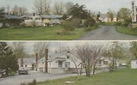 A)  Nashville, IN - Singing Pines Motel - Two Exterior and Grounds Views - 1963