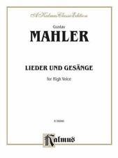 Fourteen Songs Including Nine from Des Knaben Wunderhorn: High Voice (German Lan