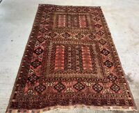 Tapis Pers Afghan 255x160cm Laine Noué main teppich tappeto carpet rugs alfomra