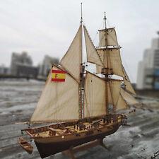 1/100 Holzschiff Modell DIY Kits Boot Weihnachten für Kinder Erwachsene Home