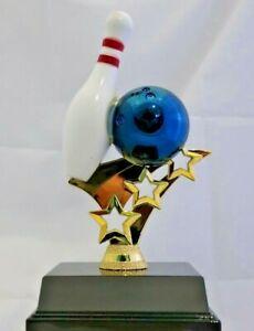 Tenpin Bowling Theme Trophy 150mm Engraved FREE