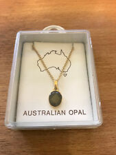 Australian Opal Necklace with Case