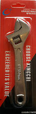 New ADJUSTABLE WRENCH SPANNER drop FORGED heat treated STEEL Polished UK