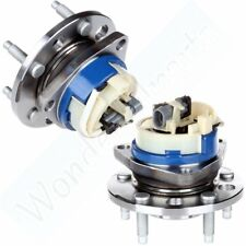 Pair Front Wheel Hub Bearing Assembly For Olds Pontiac Cadillac Chevy W/ Abs