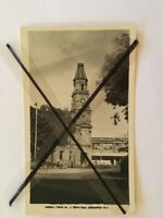 ANTIQUE VINTAGE BLACK WHITE PHOTO POSTCARD OLD FREMANTLE WA TOWN HALL BUILDING