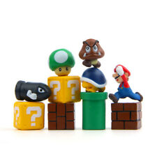 Super Mario Yoad Troopa Goomba 10 PCS Action Mini Figure Cake Topper Gift Toys