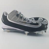 Nike Huarache 2kFilth Pro Low Mens Size 10.5 Baseball Cleats Wolf Grey Black