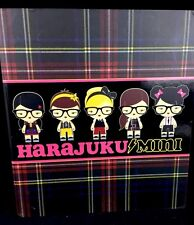 2011 HARAJUKU Mini For Target Binder Notebook Portfolio Plaid Hard To Find