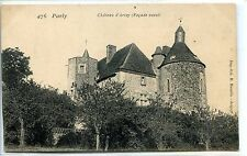 CP 77 Seine-et-Marne - Parly - Château d'Arley (Façade ouest)