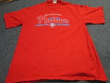 V.F. IMAGEWEAR MLB PHILADELPHIA PHILLIES RED T-SHIRT SIZE L