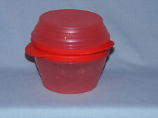 Tupperware Duo Bowls 1 & 2 cup sizes - All Orange GUC