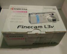 Kyocera Finecam L3v 3.3 MP Digital Camera