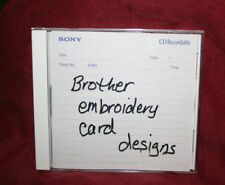 Brother embroidery card designs from design library