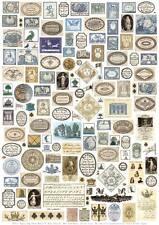 Giftwrap / Poster Print - Georgian & Early Victorian Ephemera - 700 x 500mm