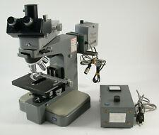 LEITZ Orthoplan Mikroskop microscope Leica Binokular binocular Durchlicht Labor