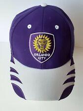 Orlando City SC adidas MLS Academy Purple One Size Snapback Hat Cap