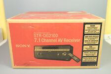 NEW IN BOX SONY STR-DG2100 7.1 CHANNEL AV HOME THEATER RECEIVER