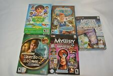 Lot Of 5 Assorted Windows/Mac Games - New Sealed Retail Box's -